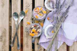 stainless steel spoon on white ceramic plate