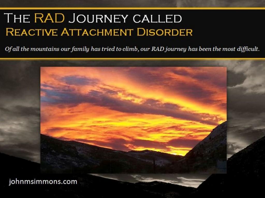 John M Simmons The Rad Child Journey Called Reactive