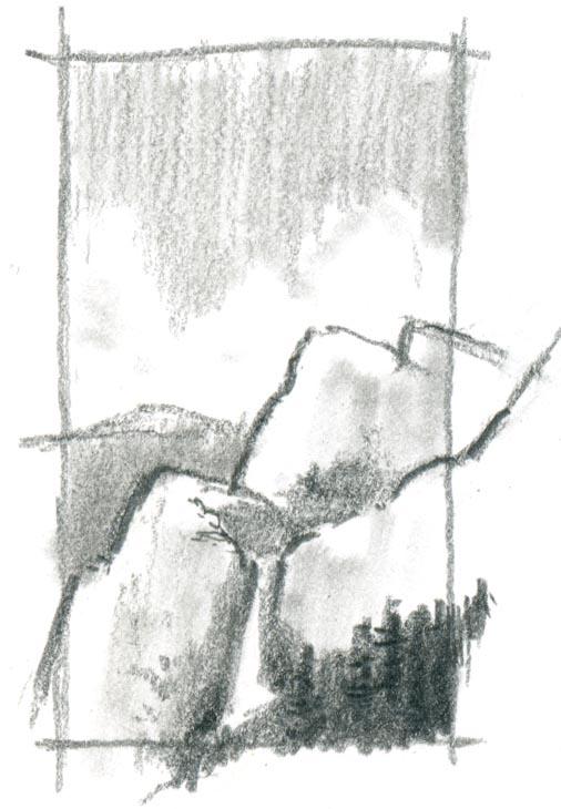 5 Minute Landscape: Graphite