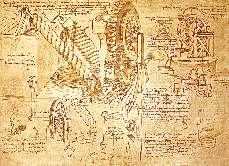 Journal like da Vinci, think like da Vinci