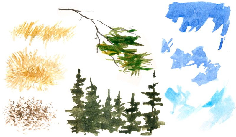 How to Paint with a Waterbrush (video)