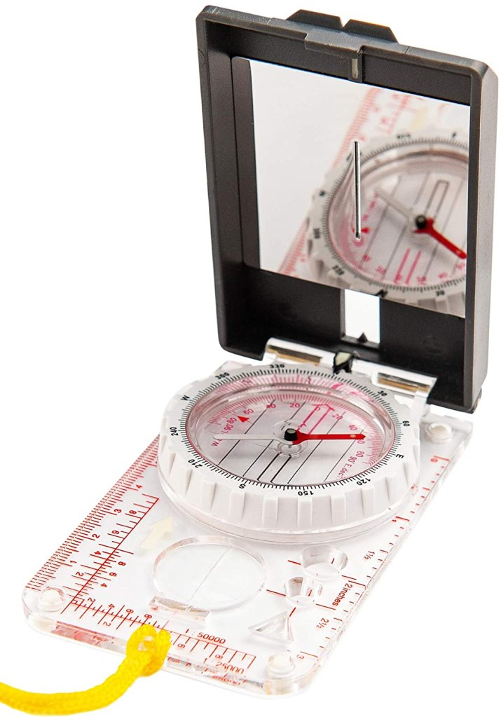Using a Compass Clinometer slope, dip, and angle. (video)