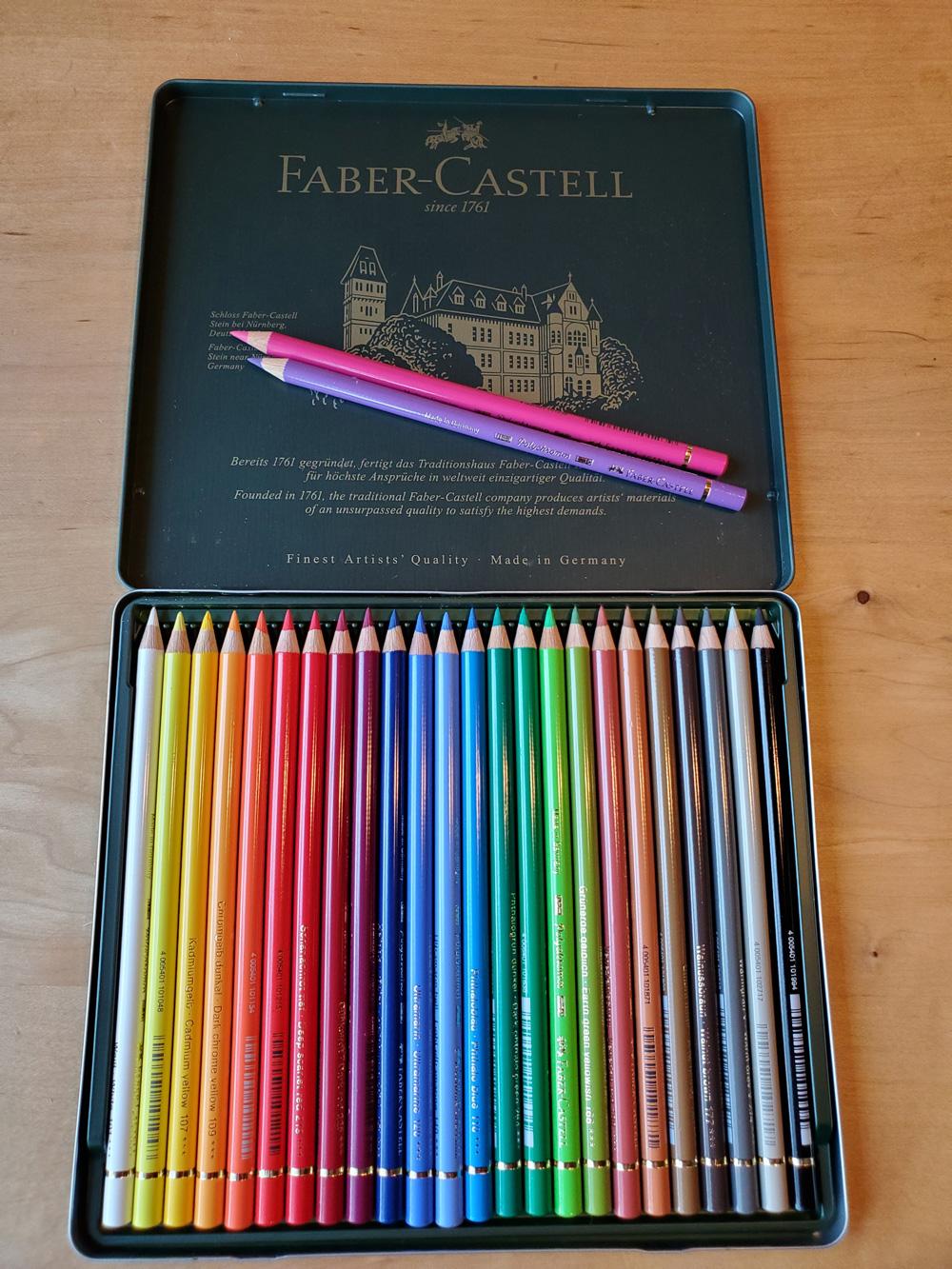 Crayons De Couleur Faber Castell : crayons, couleur, faber, castell, Faber-Castell, Couleur, Polychromos, Artistes, Crayon, Crayons, Airbornesports