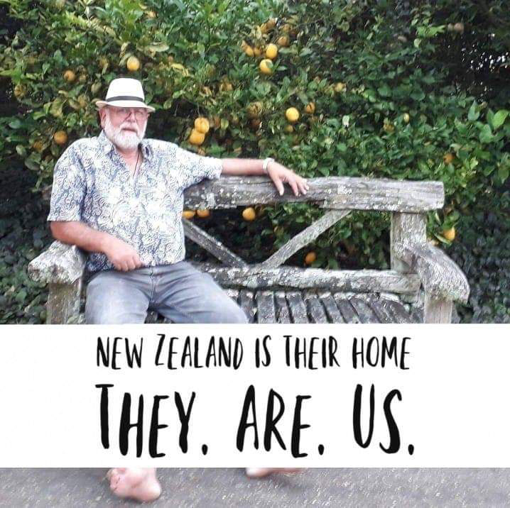 "New Zealand is their home. ""They. Are. Us."""