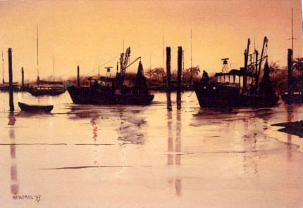 Harbour Sundown