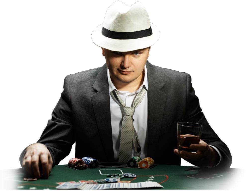 Gambling male