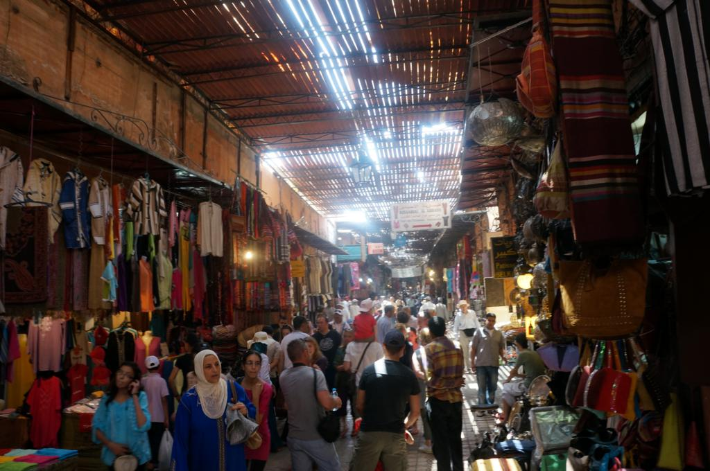 Getting lost in the Souks marrakech
