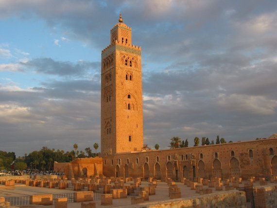 The Statue of Liberty of Marrakech