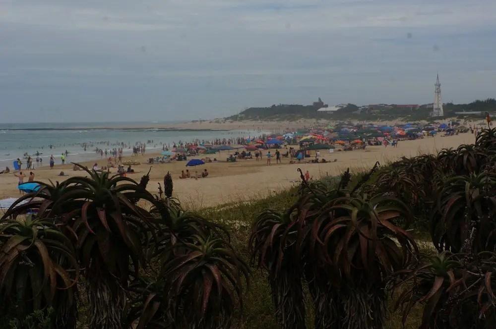 Jeffrey's Bay Beach.