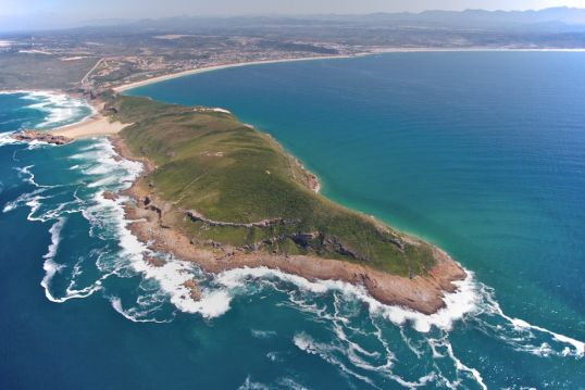 The entire Robberg Peninsula