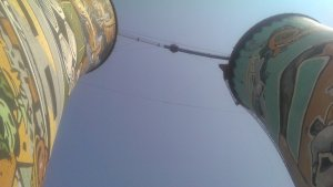 Orlando Towers, home of the Soweto Bungy jump