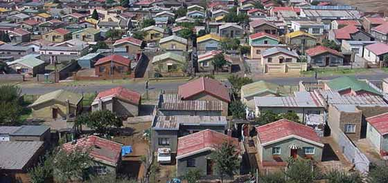 A nicer area of Soweto nowadays.