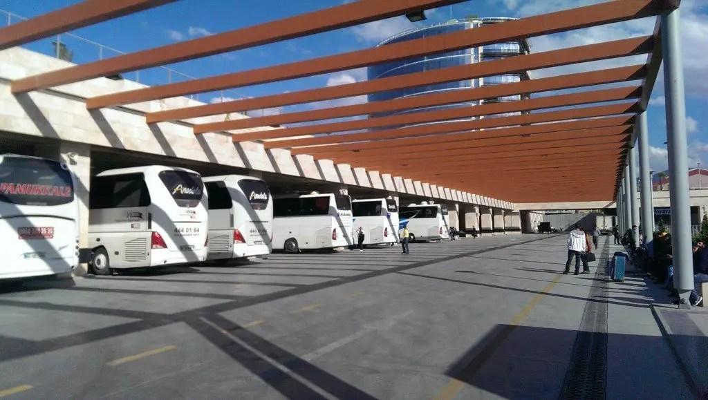 Denizli bus station.