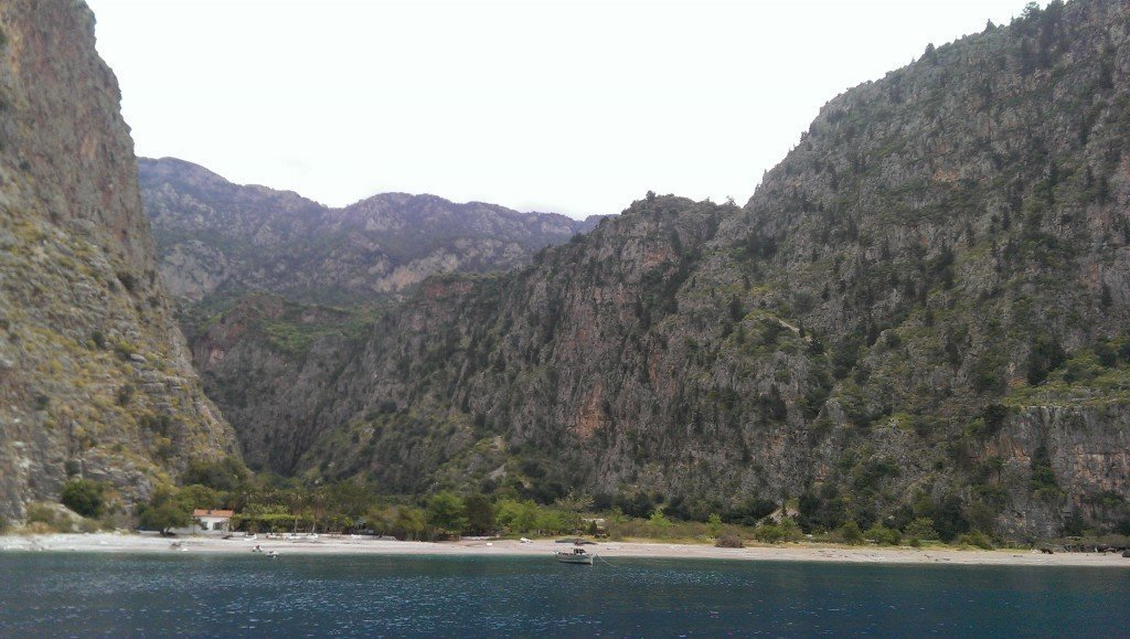 Approaching Butterfly valley.
