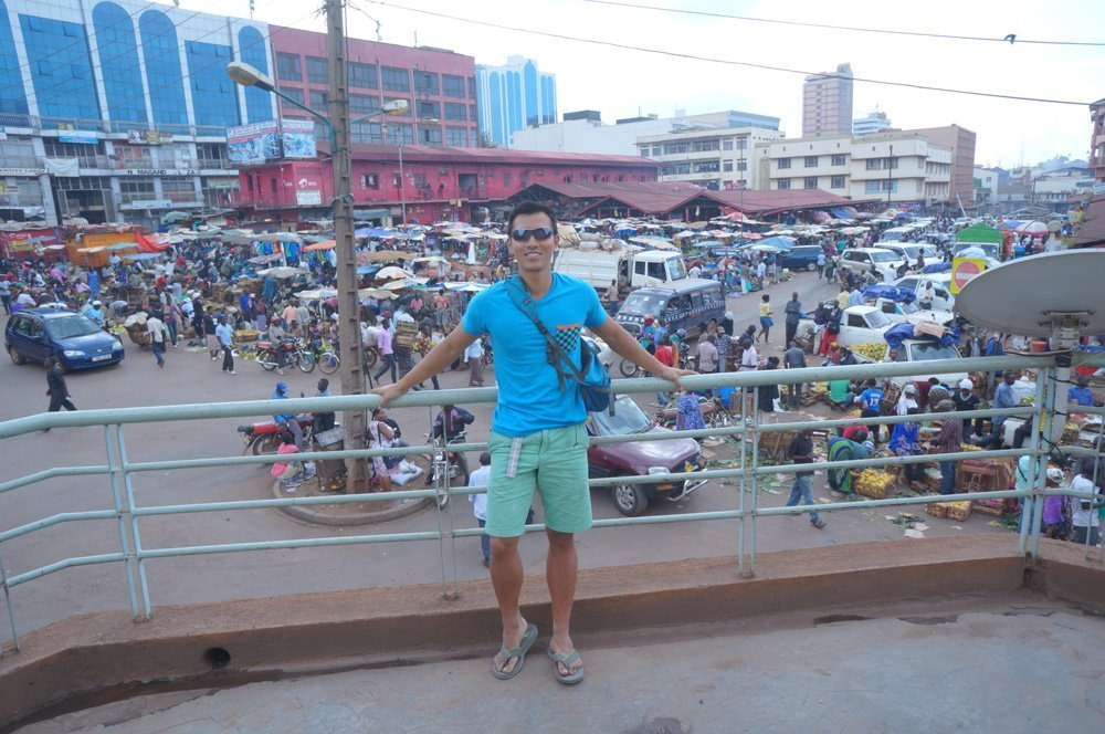 At the Nakasero Market