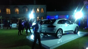 Porshe opening launch party. Hanging out at places like these, one can think there are no problems in SA.