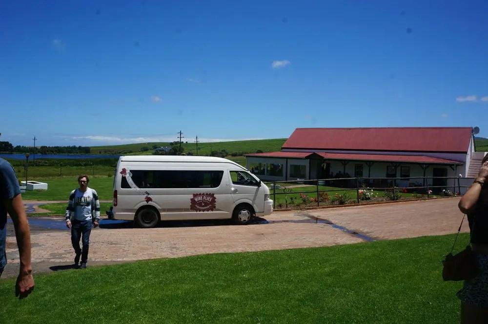 Wine Tour with wineflies.co.za