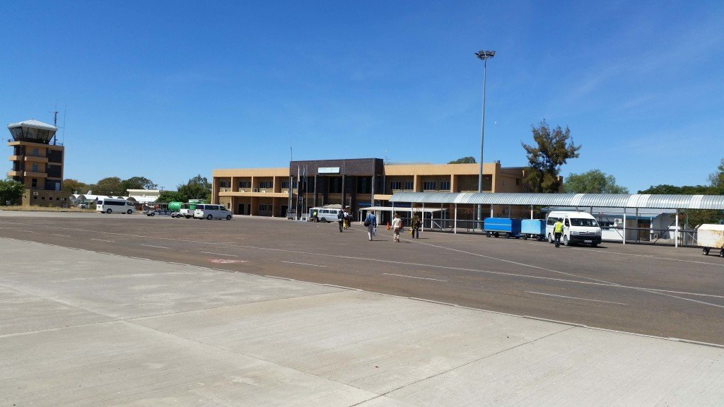 Maun airport (barely an airport)