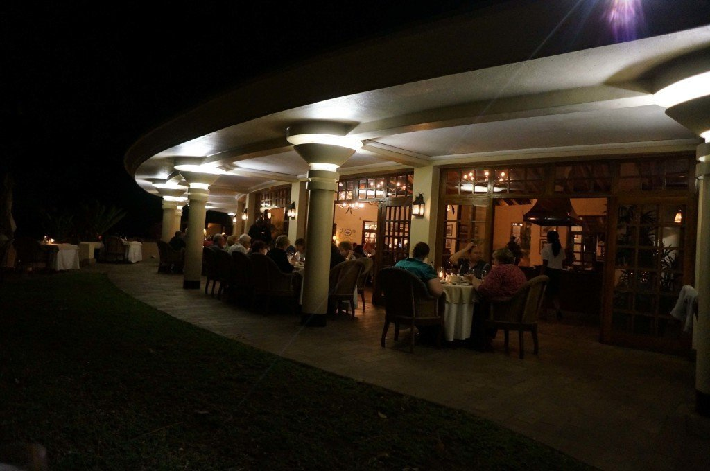 Make sure to visit this restaurant in Victoria Falls. The Palm.