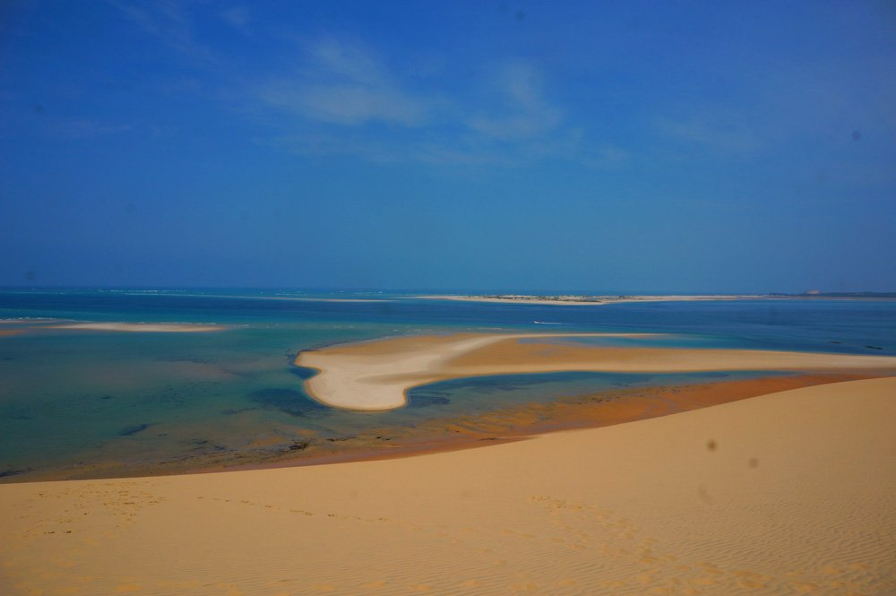 Bazaruto sand dunes island