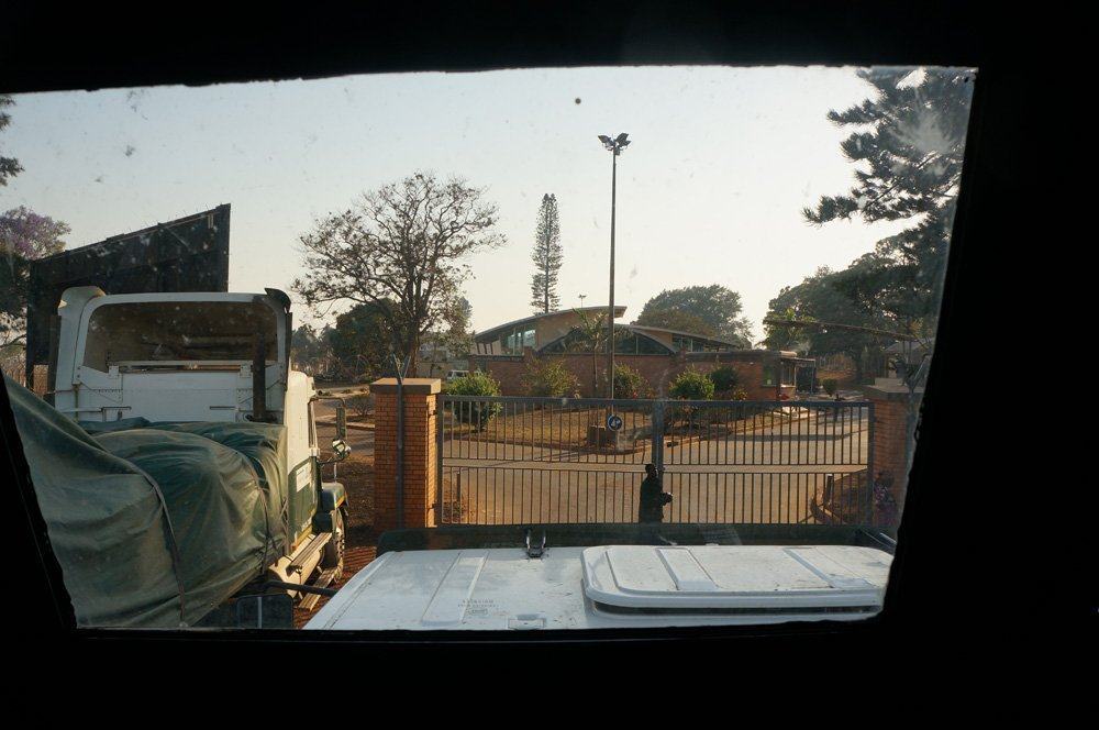 Swaziland-Mozambique border Namaacha