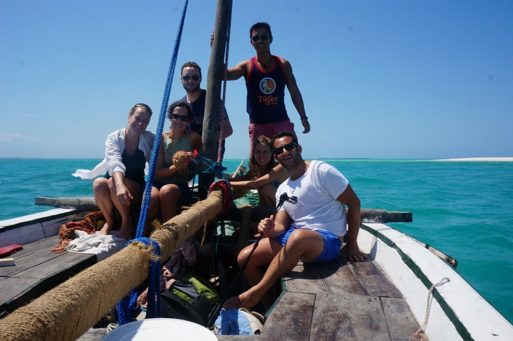dhow safari quirimbas archipelago matemo rolas island
