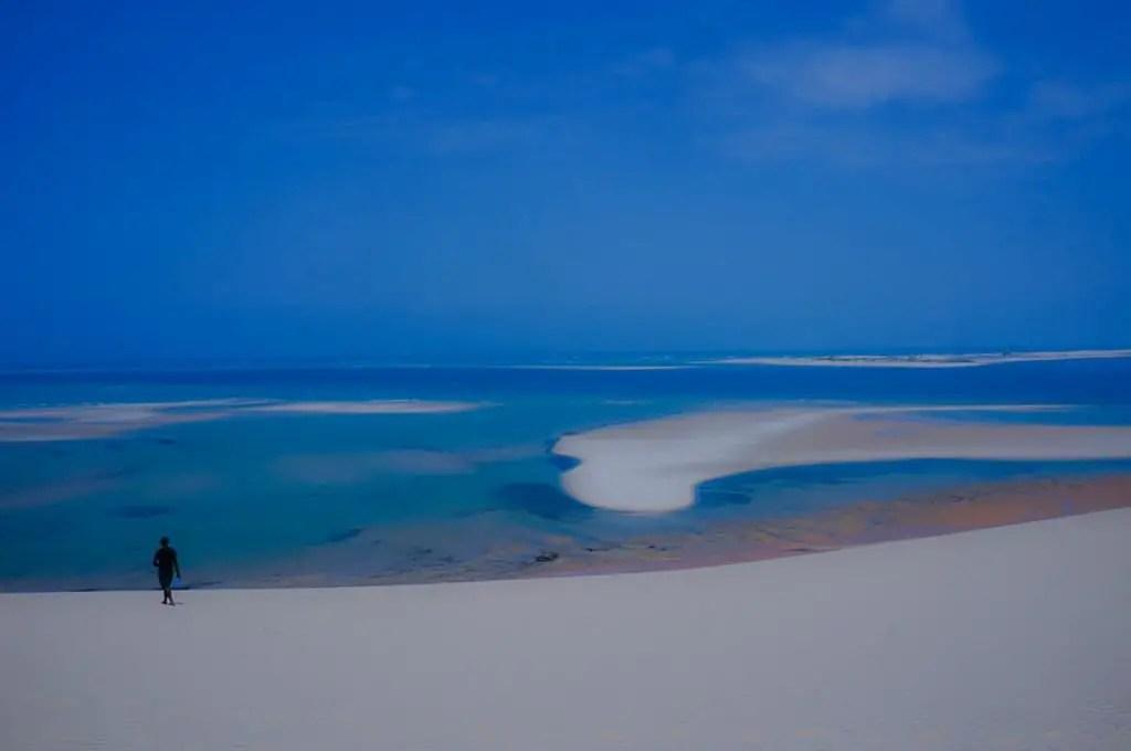 dunes bazaruto island mozambique beach