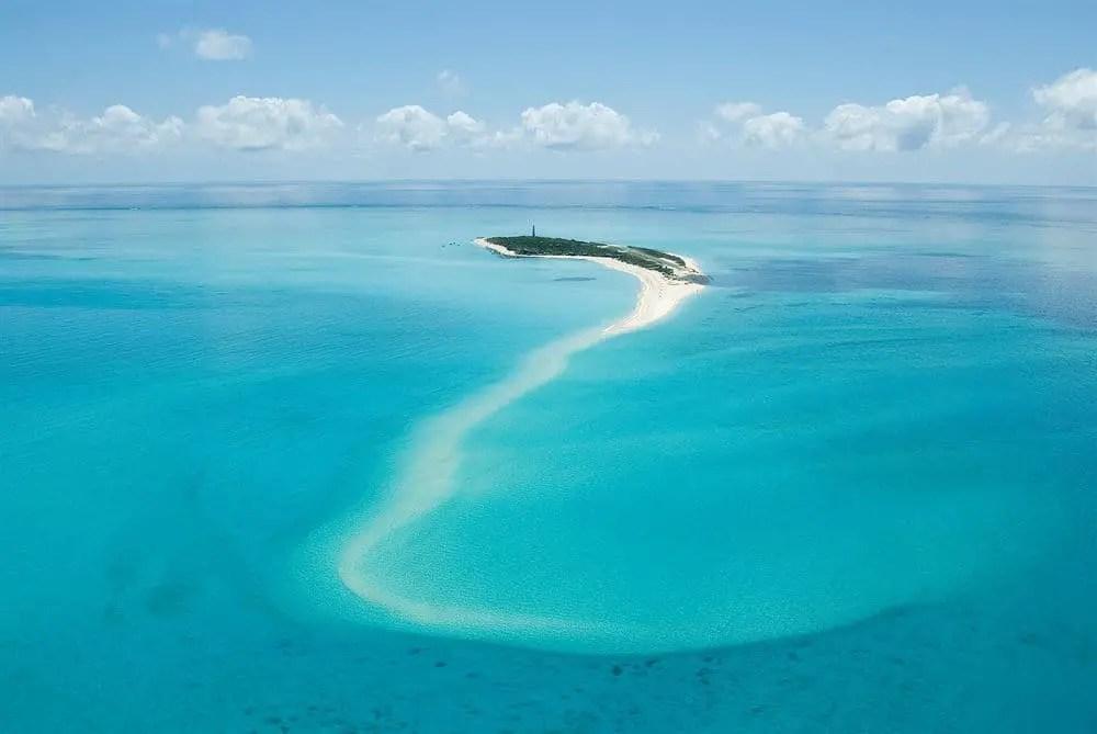 medjumbe island quirimbas aerial view mozambique