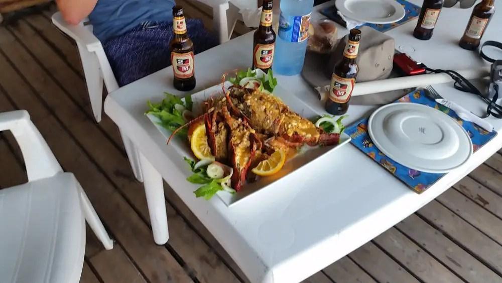 seafood mozambique prawns peri peri