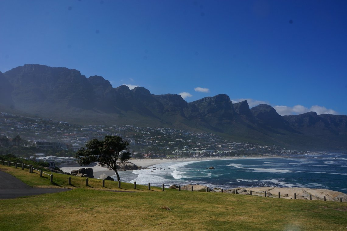 Cape Town is the most naturally beautiful city in the world in my opinion. You won't find much historical sights, or renaissance architecture, but the mountains, ocean, and beach converging in one spot just makes this place breathtaking.