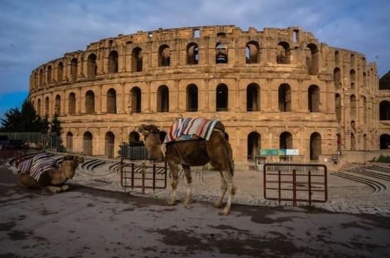Amphithéâtre d'El Jem Coliseum
