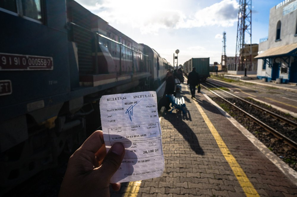 Train de Tunis