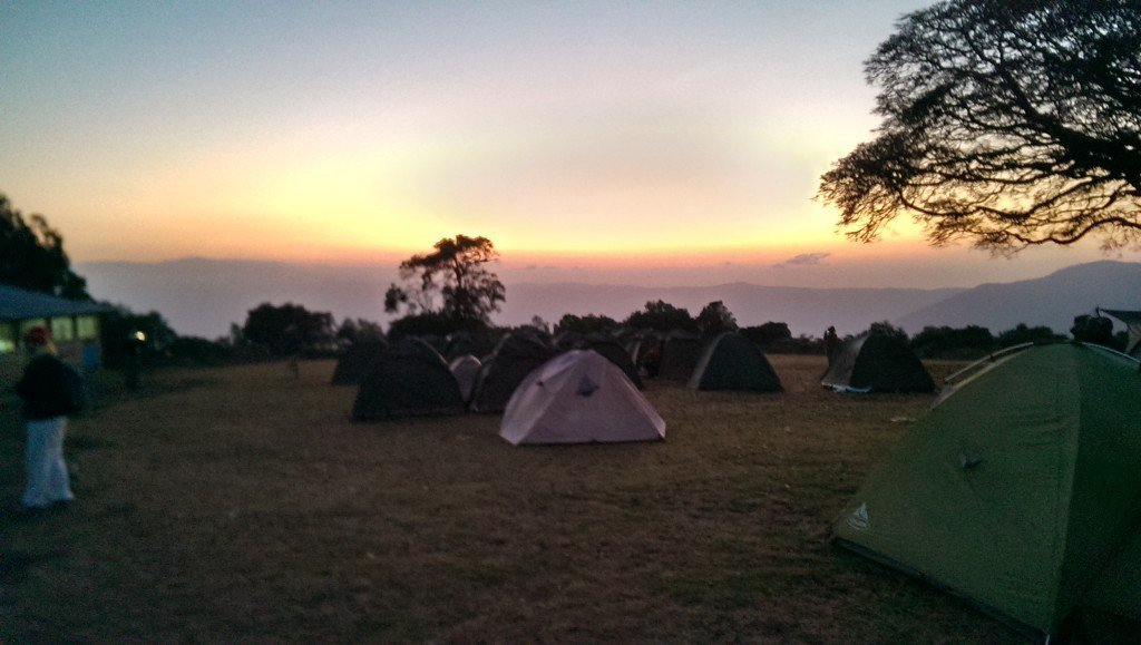 Ngorogoro Crater sunrise