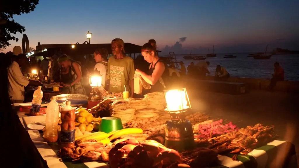 Forodhani Market Zanzibar