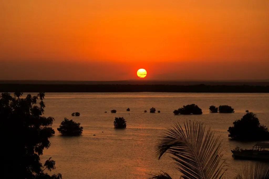 Quirimbas archipelago sunset ibo island mangroves