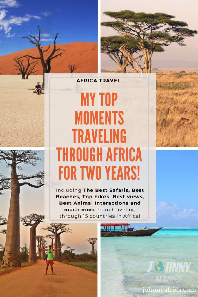 After Traveling and living in Africa for two years, these are my favorite and top moments traveling through the continent including best safaris, best beaches, best sunsets, top hikes, and much more! #africa #travel #southafrica #namibia #botswana #zimbabwe #zambia #uganda #kenya #tanzania #madagascar #mozambique #swaziland #lesotho #travel #africatravel #scubadiving #safaris #beaches
