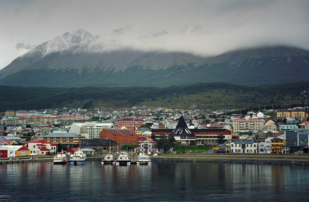 The little town of Ushuaia, located at the very southern tip of Argentina is the most southern city in the world. It's also the gateway to anyone wanting to visit Antarctica as all cruises leave from this town. Sorry, a strong dollar won't help you to get there as all tours are in dollars (and a lot of it).