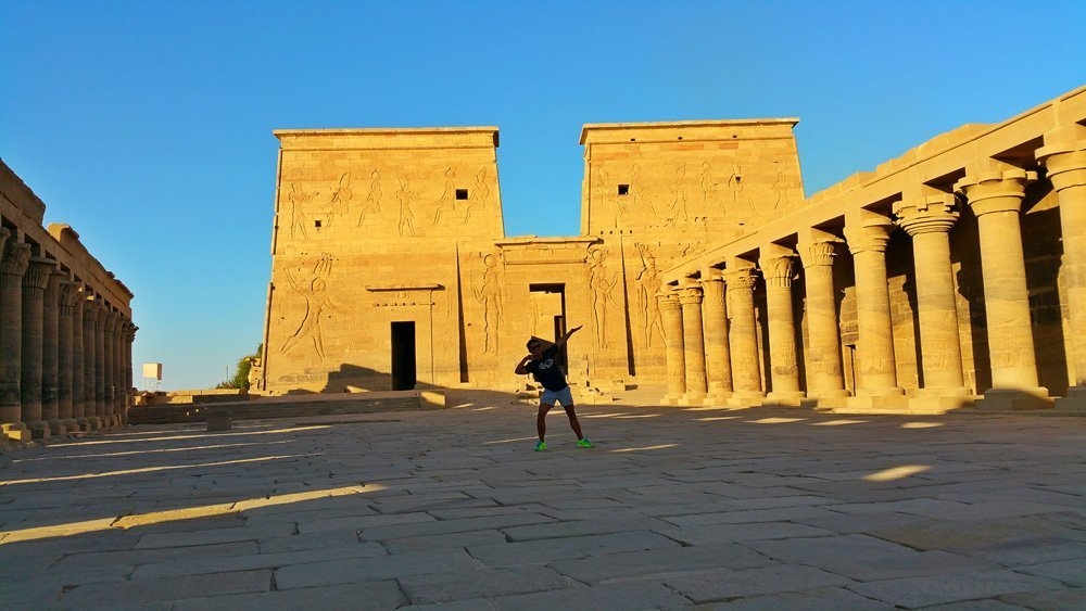 Philae Temple egypt empty