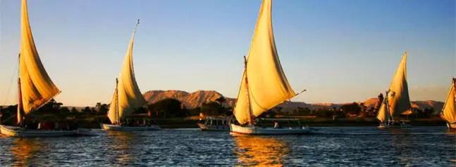 Felucca in Egypt