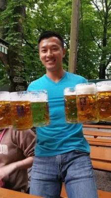 Augustiner Beergarden munich