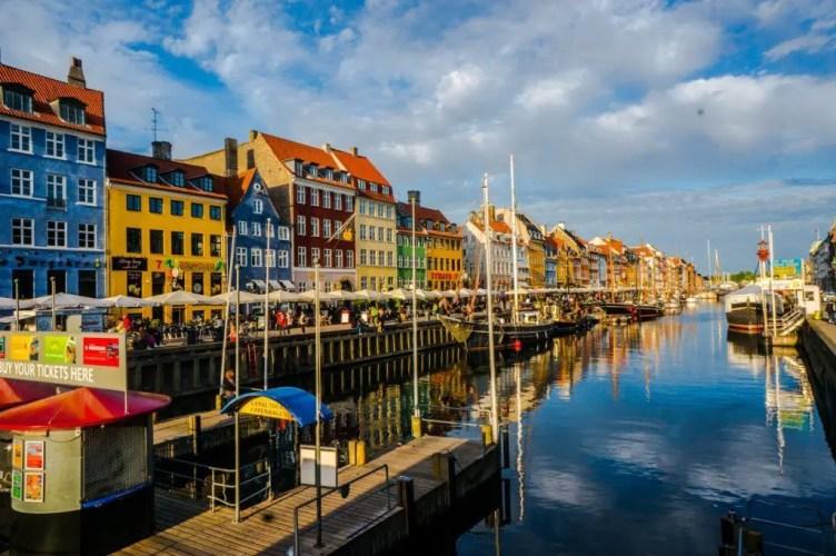Nyhavn afternoon copenhagen