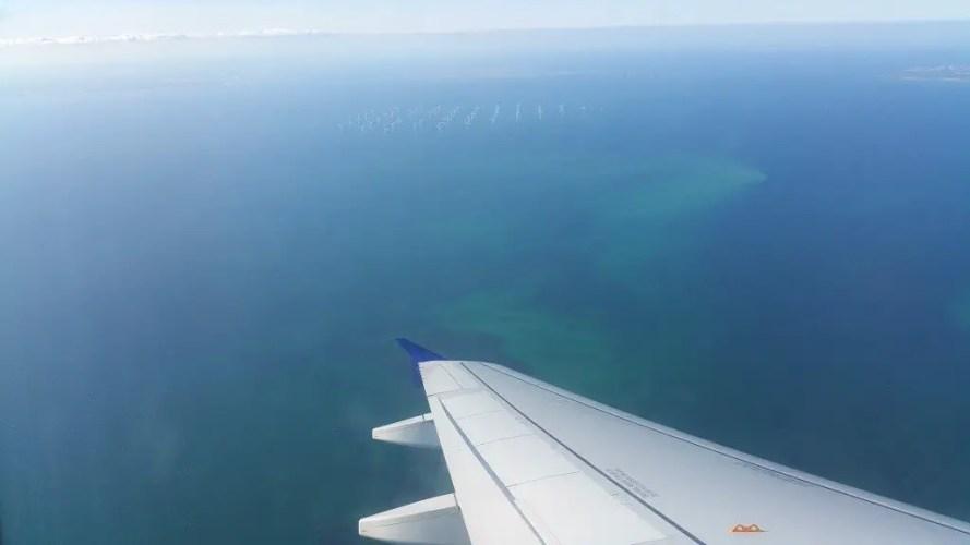 Flying over Copenhagen