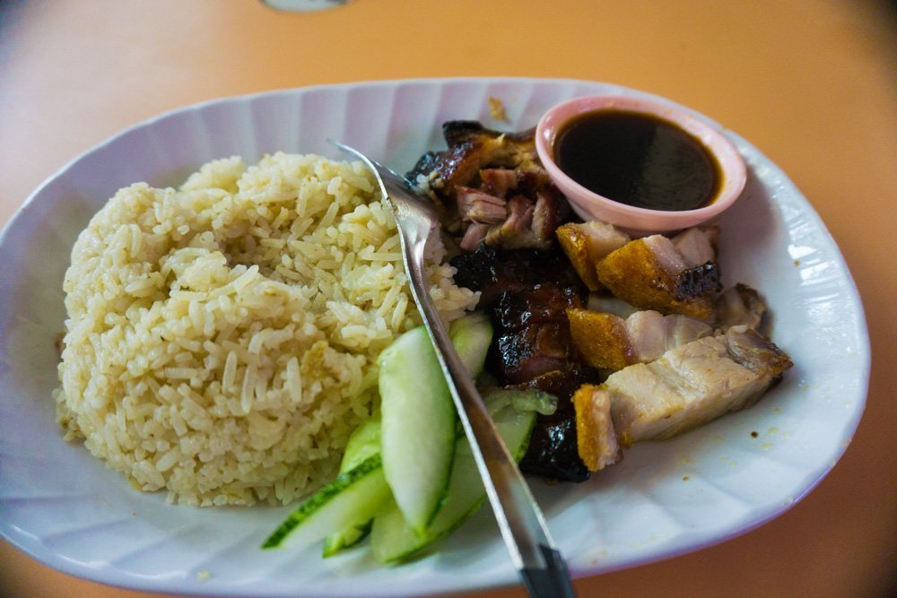 Char Siew Pork: Slow cooked pork belly is another common dish in Singapore. And yes, it is indeed tasty.