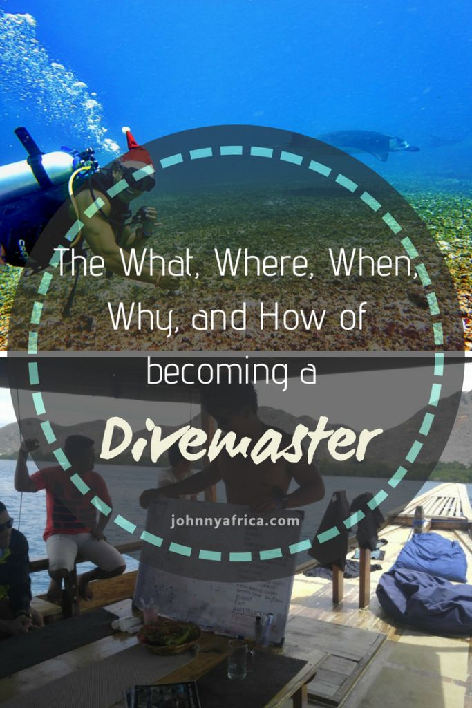 I completed my divemaster training in Komodo, Indonesia after spending a month diving in paradise. The divemaster course is for those that want to take it to the next level and work as a PADI dive professional.