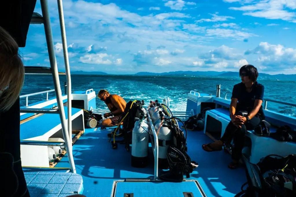 scuba diving ishigaki