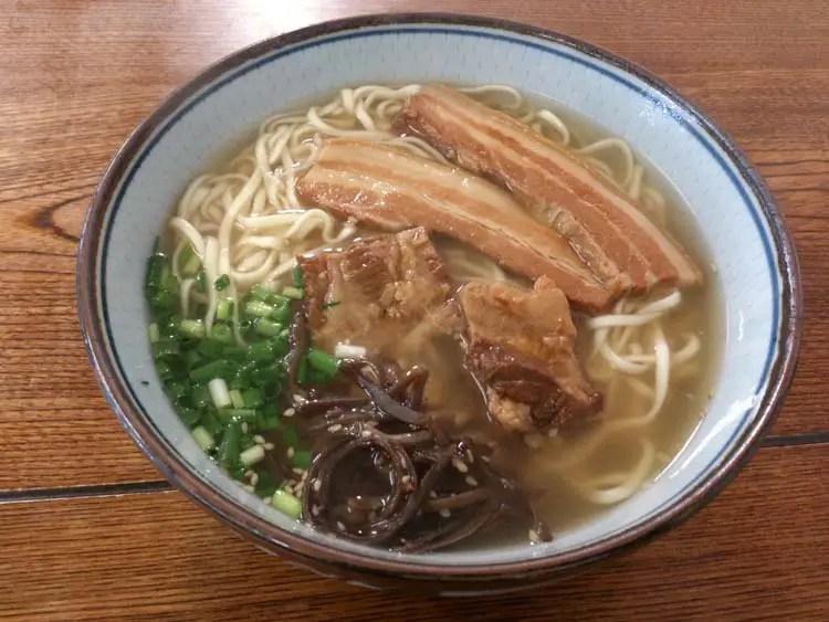 Okinawa Soba on Ishigaki