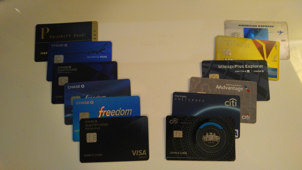 Credit cards inventory