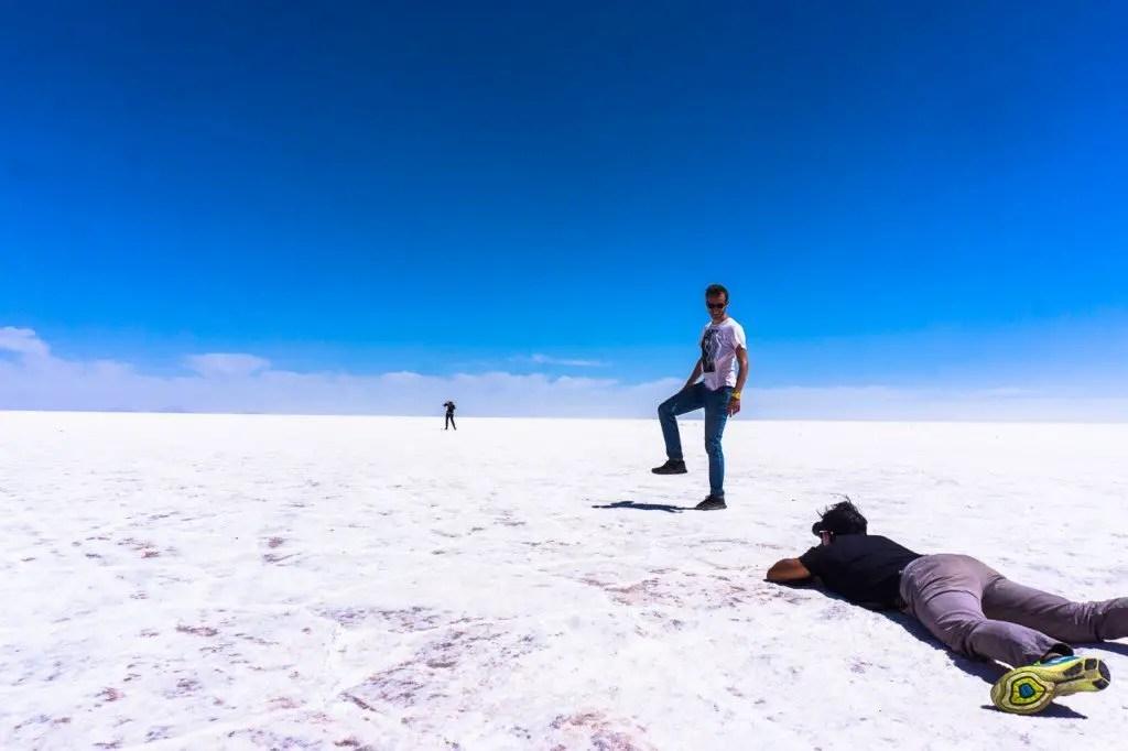 How to take photos salt flats
