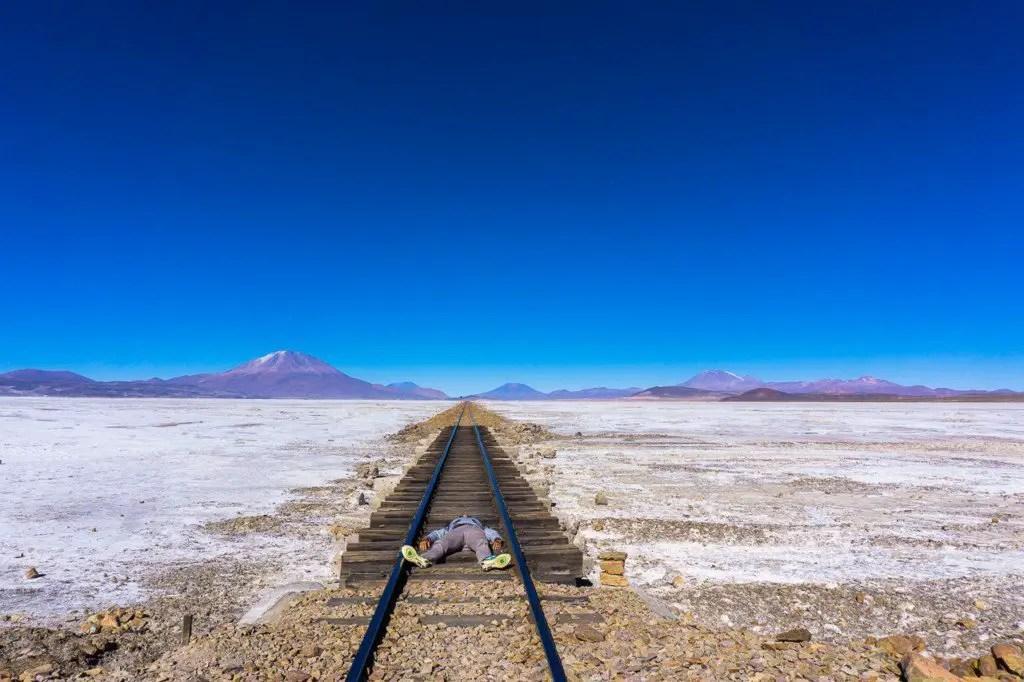 train track uyuni