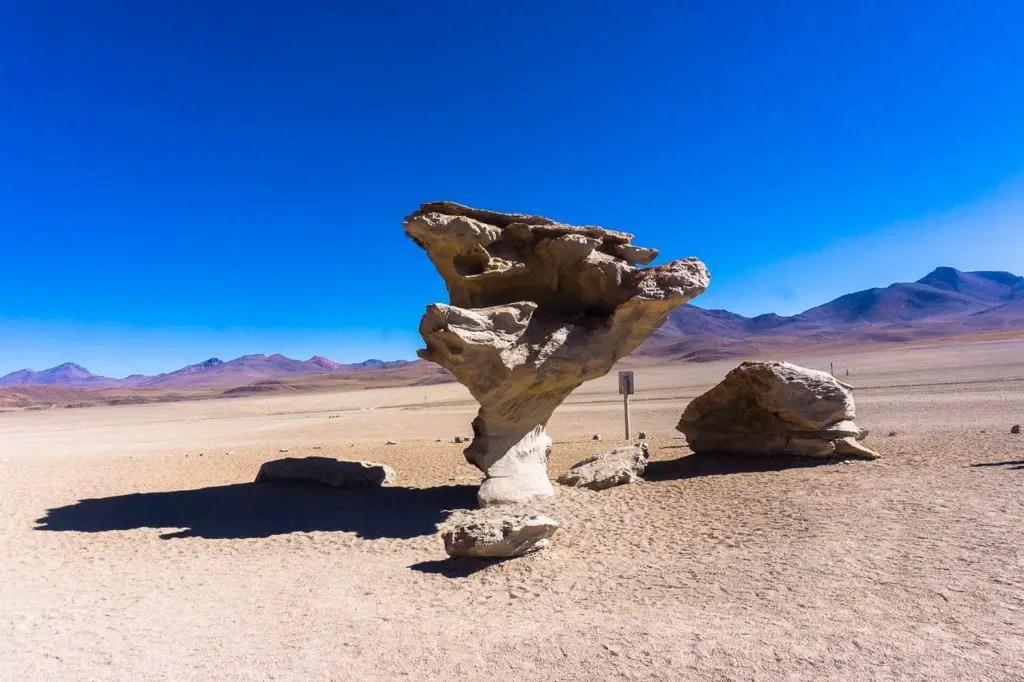 Arbol de piedra Uyuni